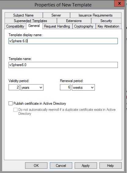Creating a microsoft certificate authority template for ssl click the extensions tab select application policies and click edit select server authentication and click on remove and then ok yadclub Choice Image